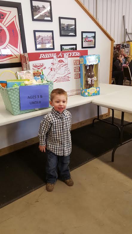 Sawyer Hansen -  Age 2